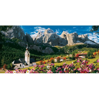 Clementoni-38007 Jigsaw Puzzle - 13200 Pieces - The Dolomites