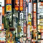 Puzzle  Clementoni-38507 Frame Me Up -  Tokyo Lights