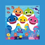 Puzzle  Clementoni-38807 Frame Me Up - Baby Shark