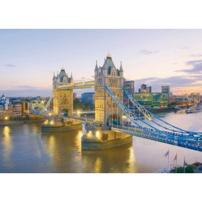 Clementoni-39022 Jigsaw Puzzle - 1000 Pieces - London Bridge