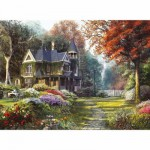 Clementoni-39172 Jigsaw Puzzle - 1000 Pieces - Beautiful Victorian Mansion