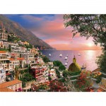 Puzzle  Clementoni-39221 Italy, Romantic Positano