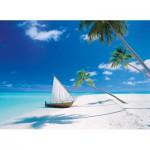 Puzzle  Clementoni-39256 Maldives Islands