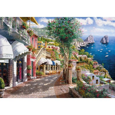 Puzzle Clementoni-39257 Capri, Italy