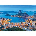 Puzzle  Clementoni-39258 Brazil, Rio de Janeiro