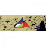 Puzzle  Clementoni-39264 Joan Miro - Woman and Bird in the Night