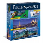 Clementoni-39277 Jigsaw Puzzle Mania Kit