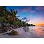 Puzzle  Clementoni-39337 Tropical Idylle