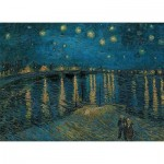 Puzzle  Clementoni-39344 Van Gogh Vincent: Starry Night