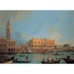 Puzzle  Clementoni-39346 Canaletto: Venice