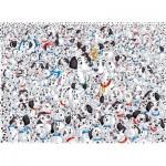 Clementoni-39358 Impossible Jigsaw Puzzle - 101 Dalmatians