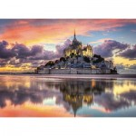 Puzzle  Clementoni-39367 Mont Saint-Michel, France