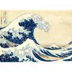 Puzzle  Clementoni-39378 Hokusai: The Wave