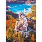 Puzzle  Clementoni-39382 Neuschwanstein, Germany