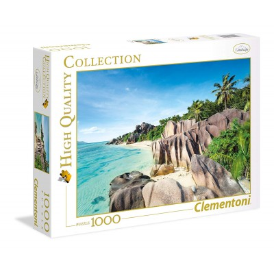 Puzzle Clementoni-39413 Paradise Beach