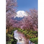 Puzzle  Clementoni-39418 Fuji