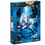 Puzzle  Clementoni-39462 Anne Stokes - Blue Moon