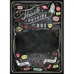 Clementoni-39468 Black Board Puzzle - Think Outside the Box
