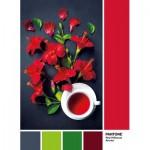 Puzzle  Clementoni-39494 Pantone - Goji Berry