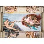 Puzzle  Clementoni-39496 Michelangelo - The creation of Adam