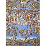 Puzzle  Clementoni-39497 Michelangelo - The last Judgement
