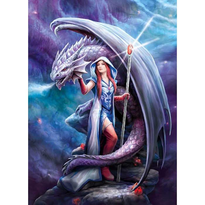 Anne Stokes : Dragon Mage