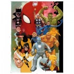 Puzzle  Clementoni-39534 Marvel 80 Years