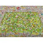 Puzzle  Clementoni-39537 Mordillo The Match