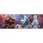 Puzzle  Clementoni-39544 Disney Panorama Collection - Disney Frozen 2