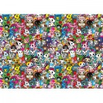 Clementoni-39555 Impossible Puzzle - Tokidoki
