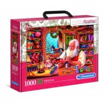 Puzzle  Clementoni-39584 Santa's Workshop