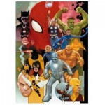 Puzzle  Clementoni-39612 Marvel Heroes