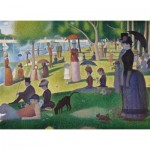 Puzzle  Clementoni-39613 Seurat Georges - A Sunday Afternoon on the Island of La Grande Jatte