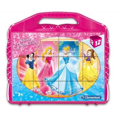Clementoni-41181 Cube Puzzle - Disney Princess