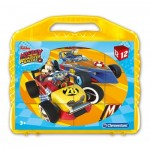 Clementoni-41183 Cube Puzzle - Mickey and the Roadster Racers