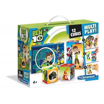 Clementoni-41507 Cube Puzzle - Ben 10