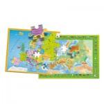 Puzzle  Clementoni-50020 Europe Map
