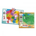 Puzzle  Clementoni-50021 Poland Map
