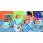 Clementoni-50162 XXL Pieces - Sequence Puzzle - Daily Routine (4x8 Pieces)