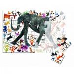 Puzzle  Clementoni-50165 XXL Pieces - Elephant