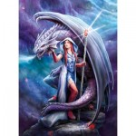 Puzzle   Anne Stokes : Dragon Mage