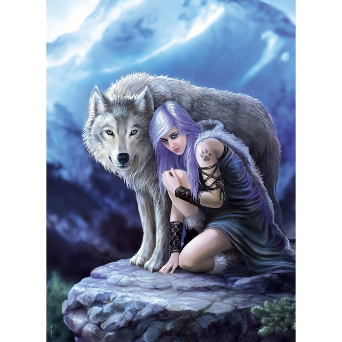 Anne Stokes - Protector Puzzle 1000 pieces