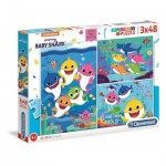 Puzzle   Baby Shark (3x48 Pieces)