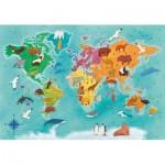 Puzzle   Exploring Maps : World- Animals