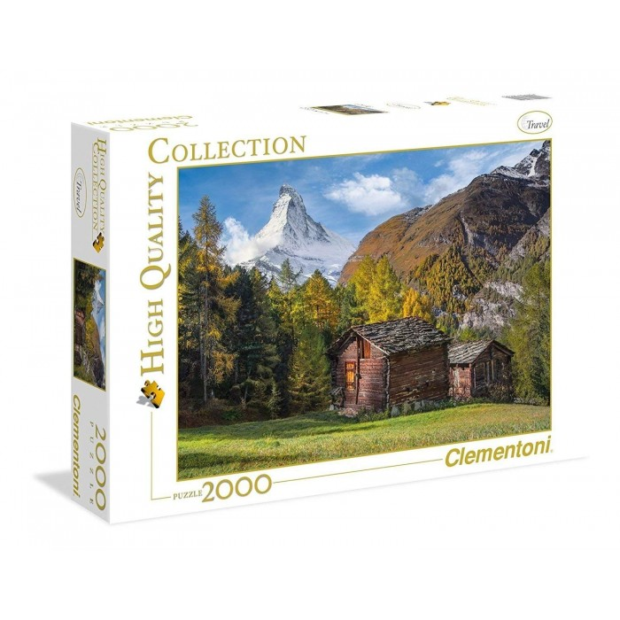 Fascinating Matterhorn Puzzle 2000 pieces