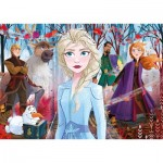 Frozen 2 - 4 Puzzles (20/60/100/180 Pieces)