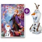 Frozen 2 - Puzzle + 3D-Model