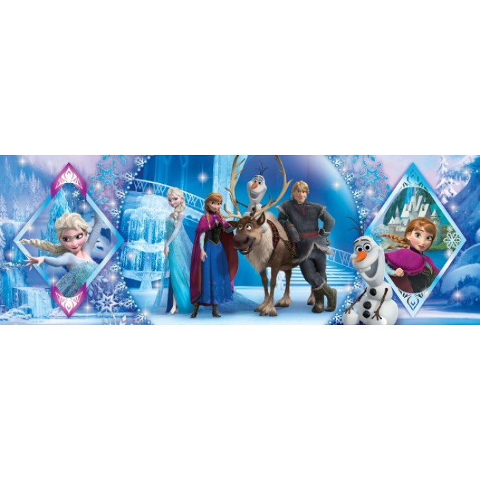 Frozen Puzzle 1000 pieces