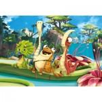 Puzzle   Gigantosaurus - 3x48 Pieces