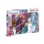 Puzzle   Glitter Effect - Frozen 2